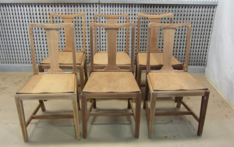 dining chairs-before